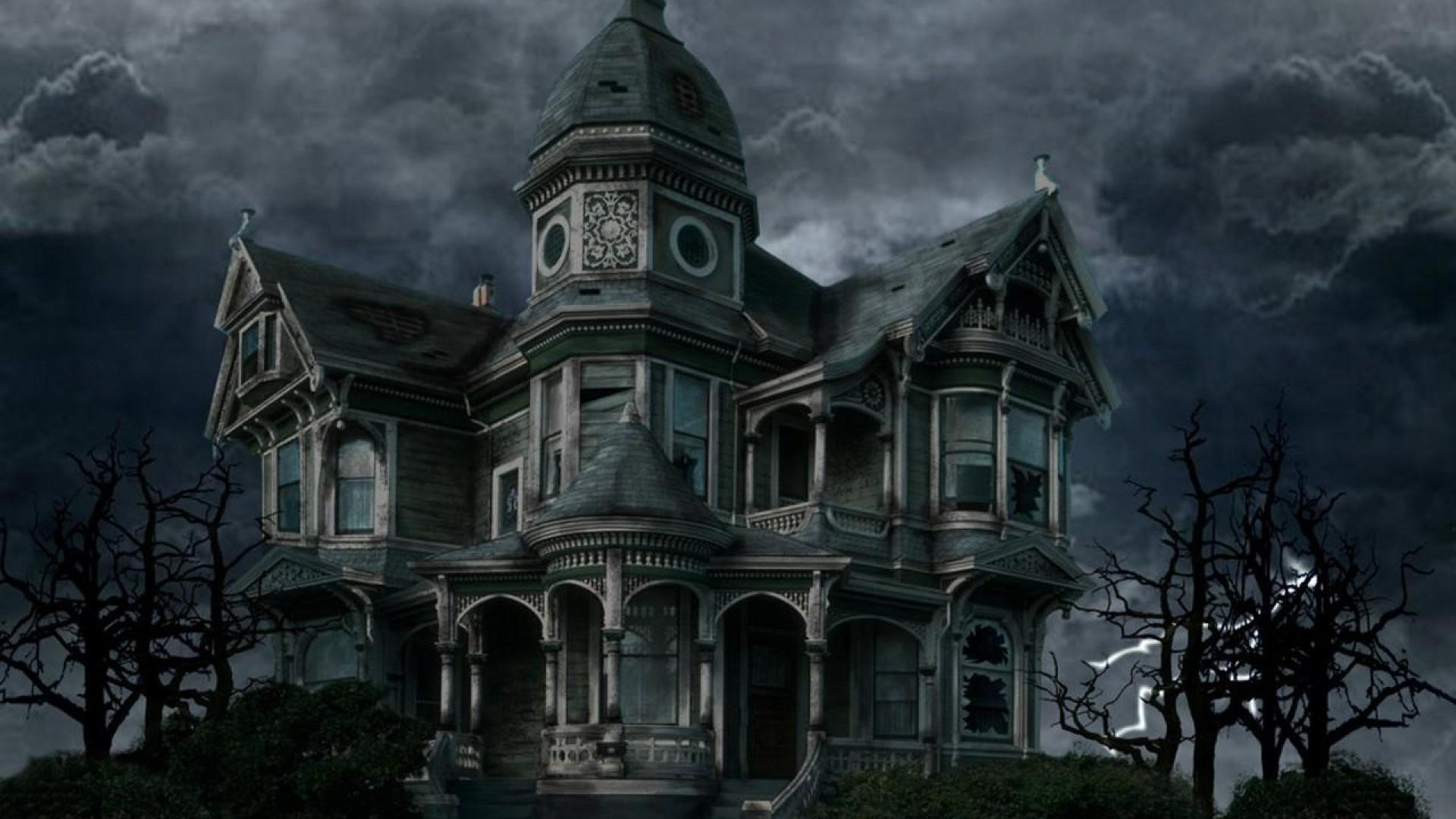 haunted house wallpaper HD 1920x1080
