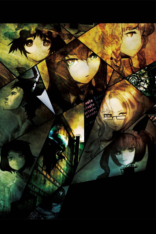 Japanese Anime Wallpaper STEINSGATE  3  Wallpaper 640x960