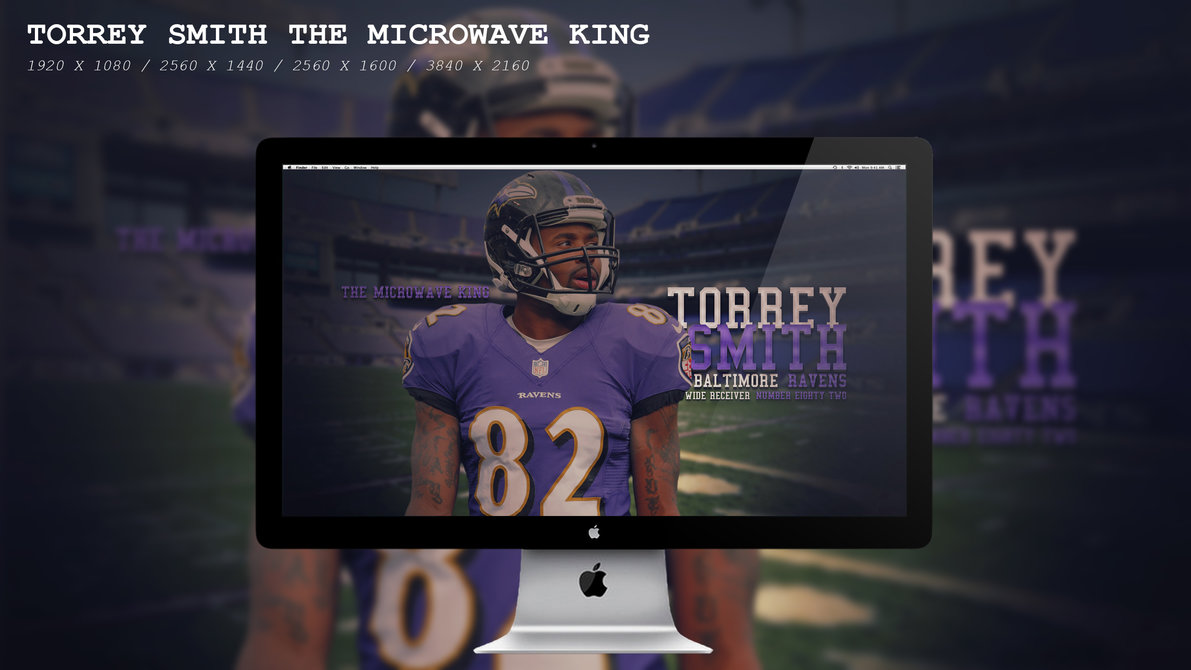Torrey Smith The Microwave King Wallpaper HD by BeAware8 1191x670