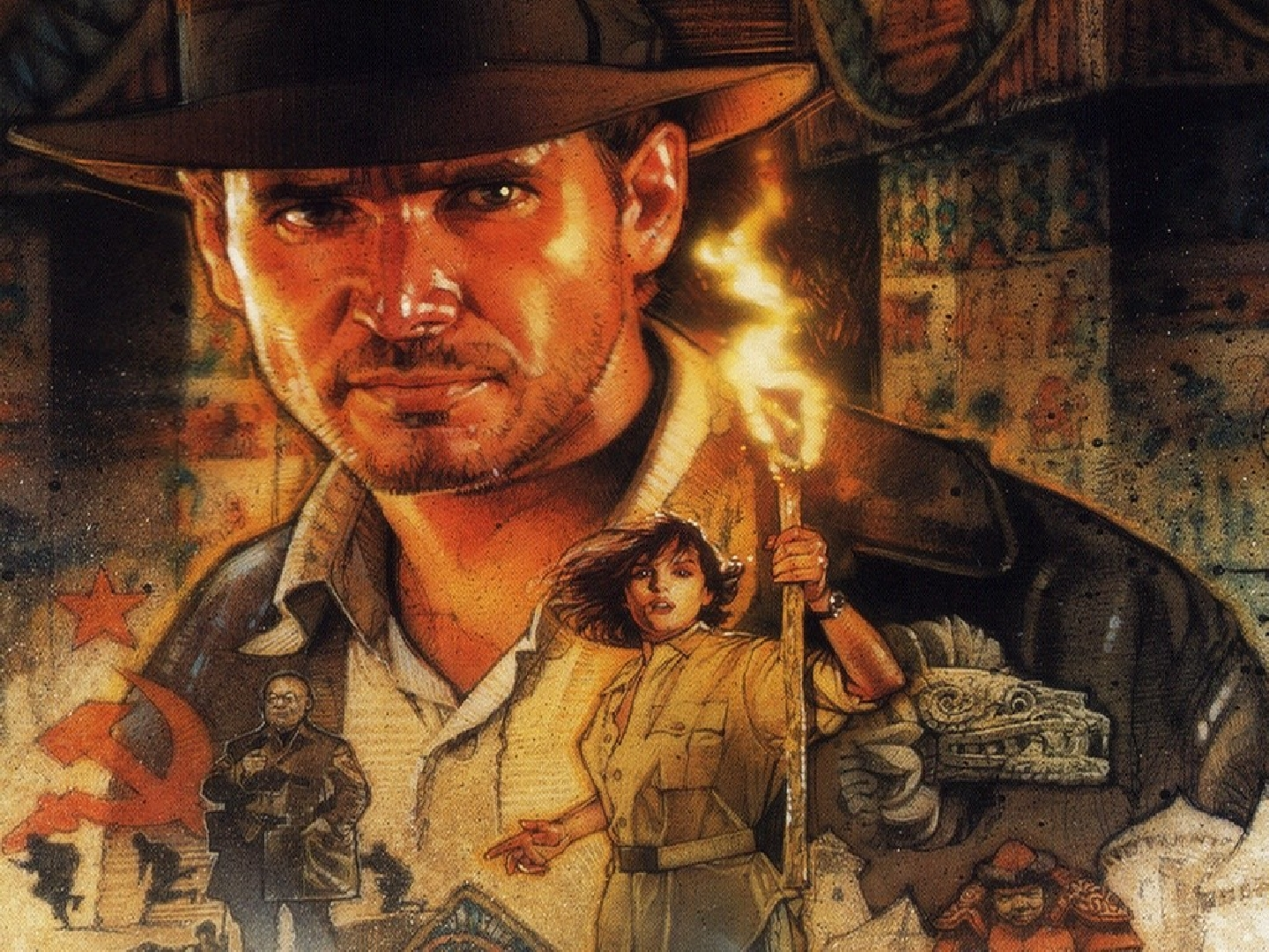 Raiders Of The Lost Ark HD Wallpaper Background Images 1440x1080