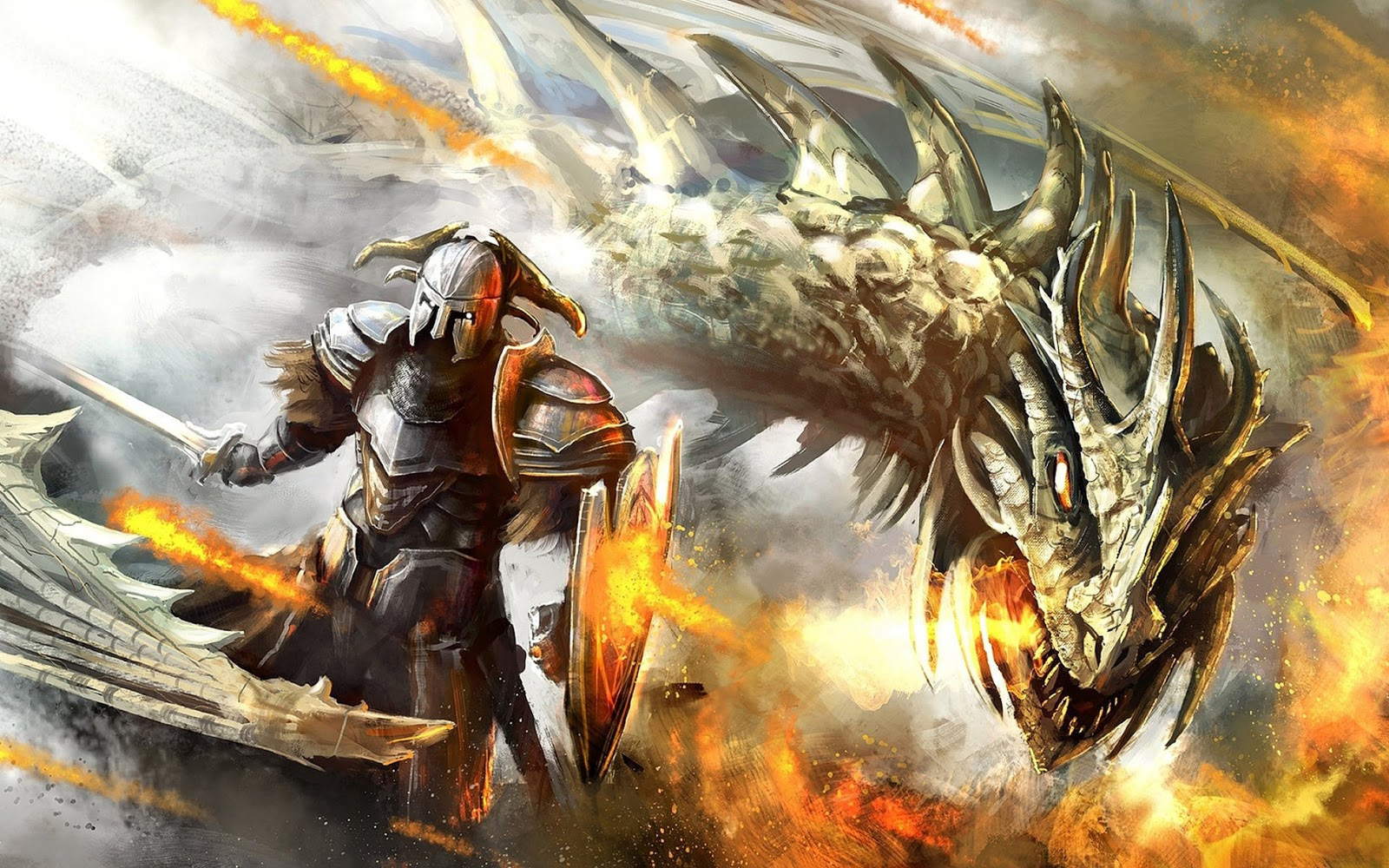 Epic Dragon Wallpaper  WallpaperSafari