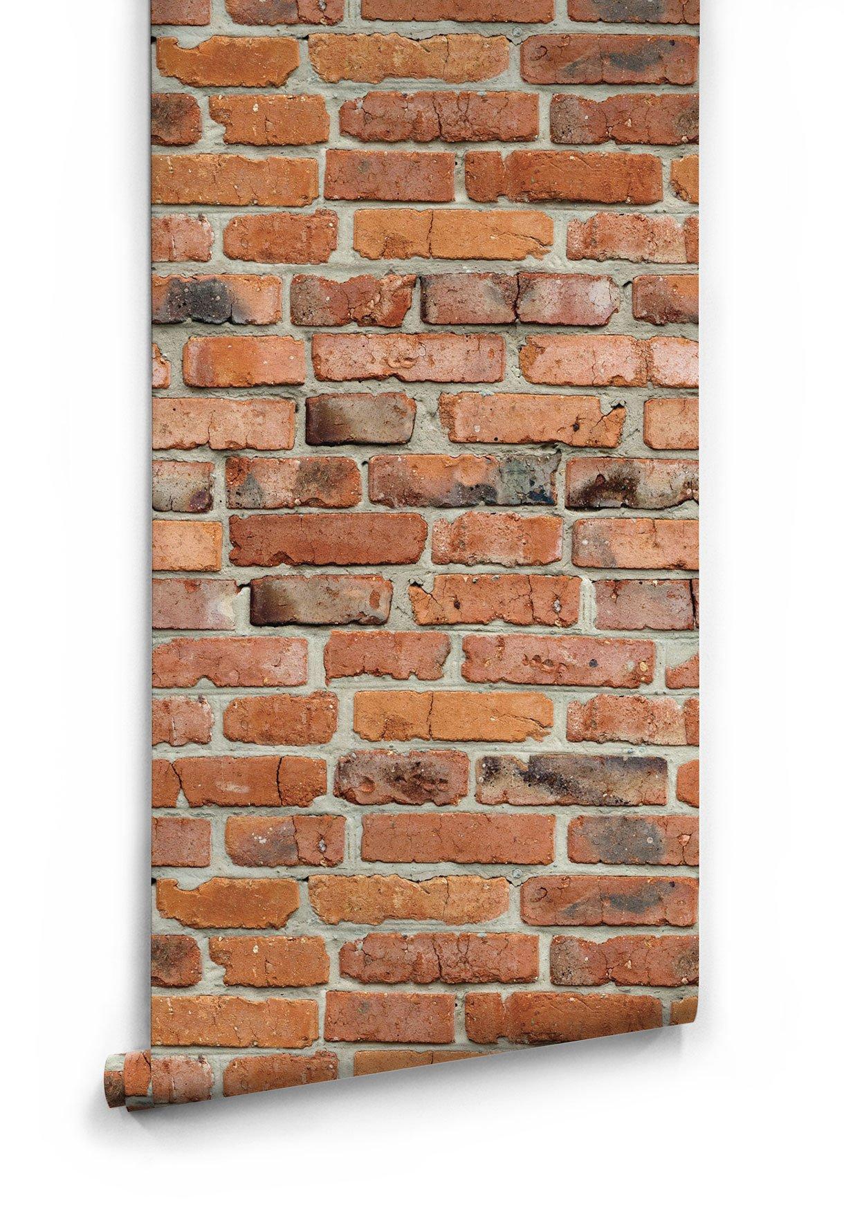 Camden Factory Bricks Wallpaper design by Milton King BURKE DECOR 1220x1745