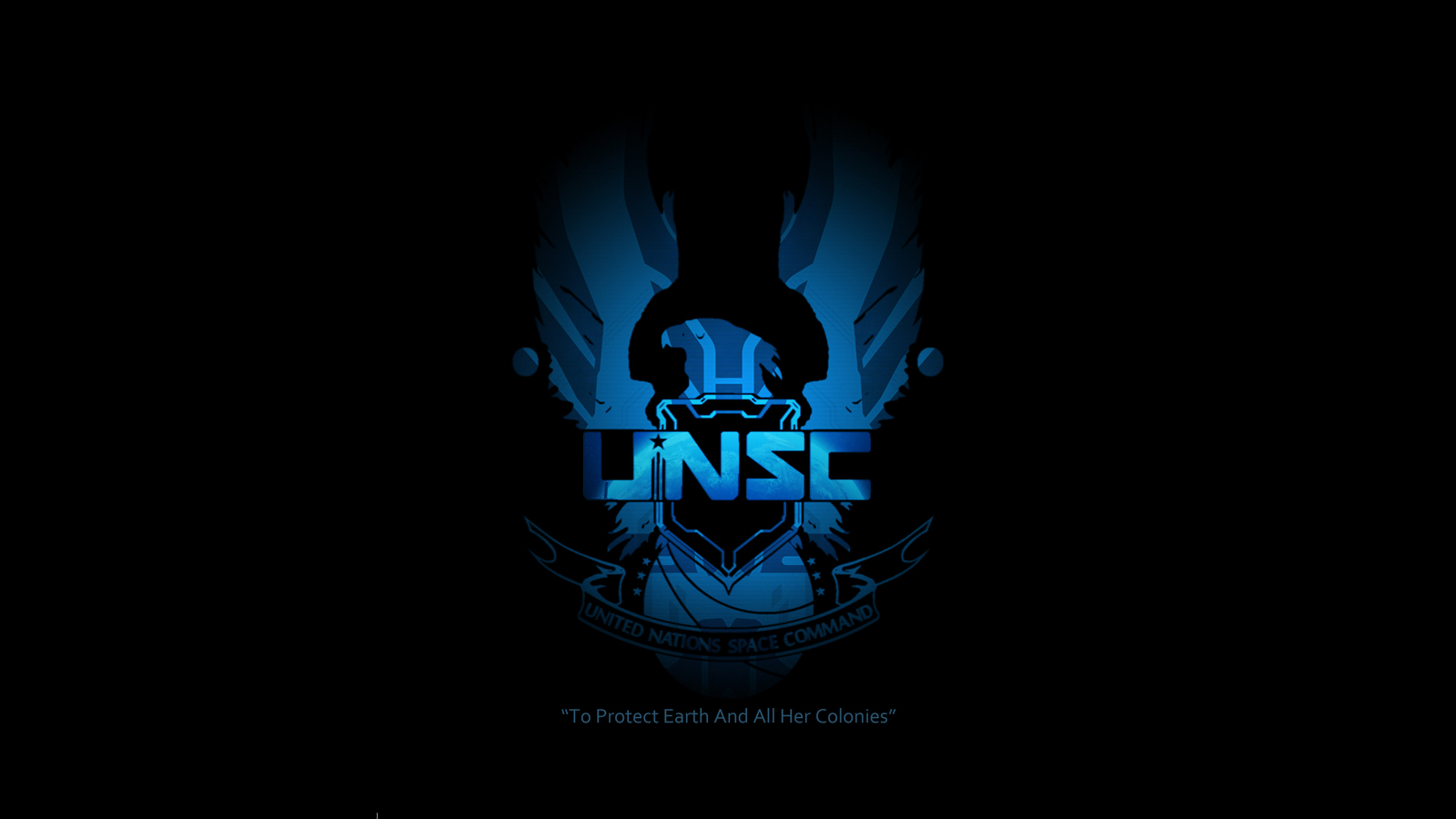 group of unsc logo wallpaper halo