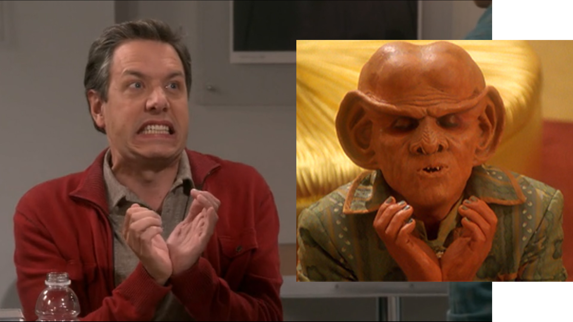 I noticed that Kripke made the Ferengi apology gesture in S11E08 1920x1080