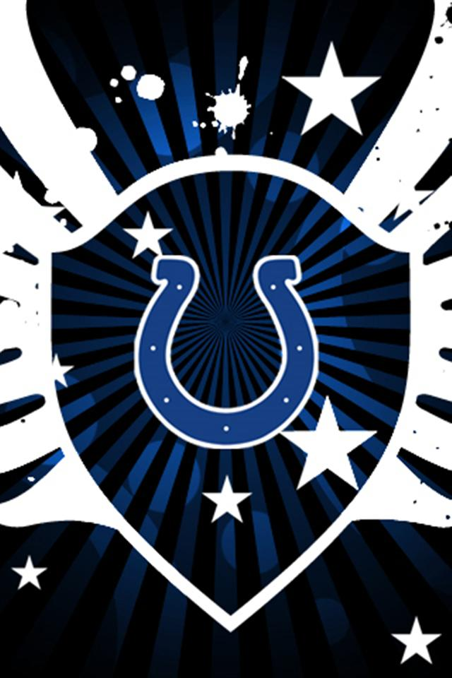 Colts Logo 2 Sports IPhone Wallpapers 5s4s3G 640x960