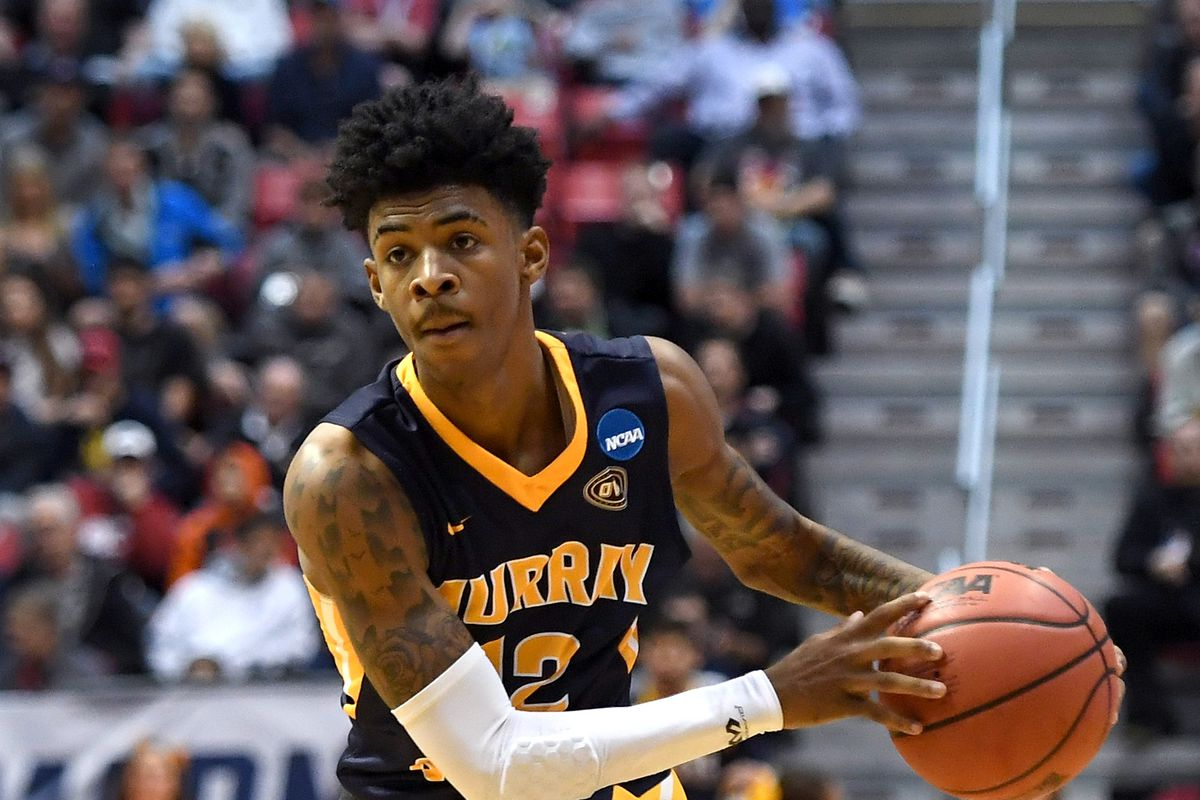 WATCH Ja Morant posterizes a poor Eastern Illinois player   Mid 1200x800