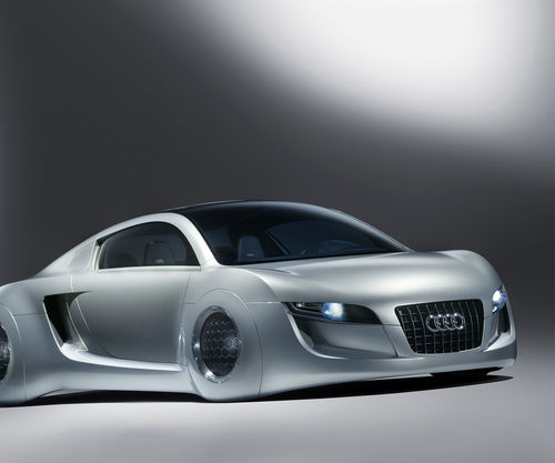 Audi RSQ concept car wallpaper for Samsung Epic 500x417