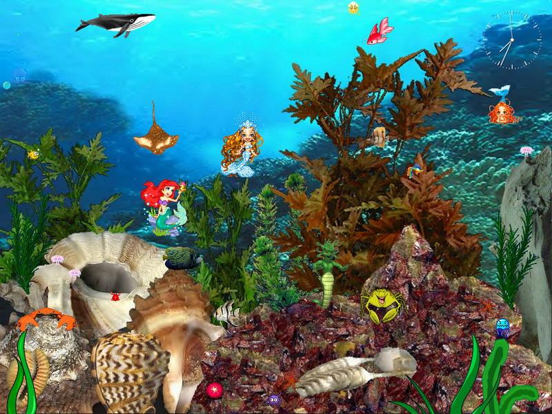 Free Funny Screensavers 2: Mermaid Screensavers And Wallpaper