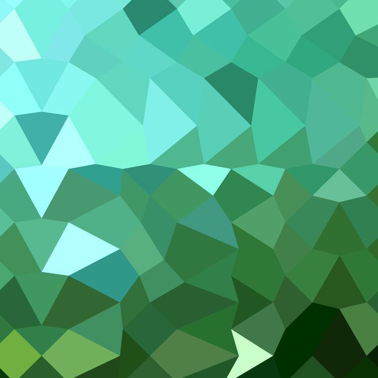 Dartmouth Green Abstract Low Polygon Background New Media by 770x770