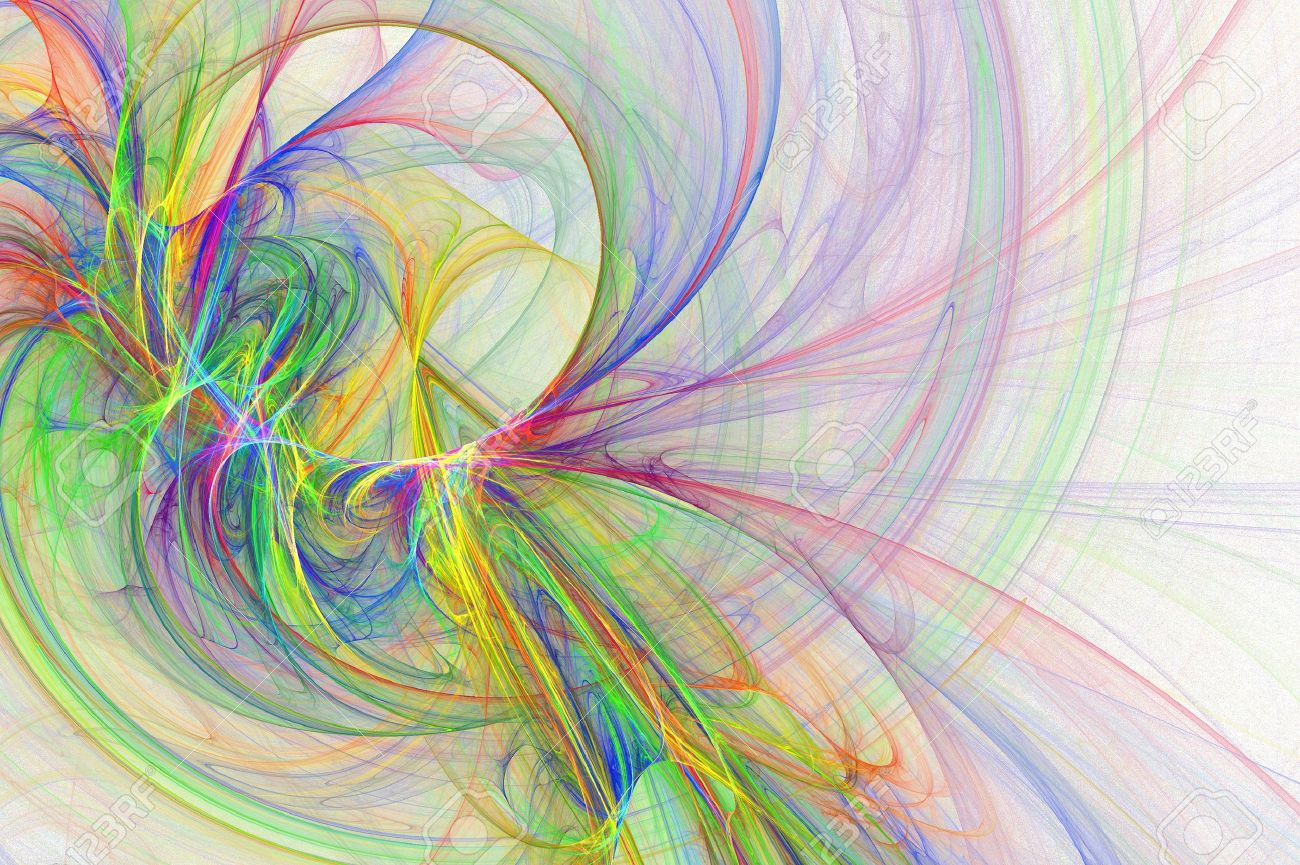 Abstract Fun Cheerful Artsy Rainbow Backgrounds Design Stock Photo 1300x865