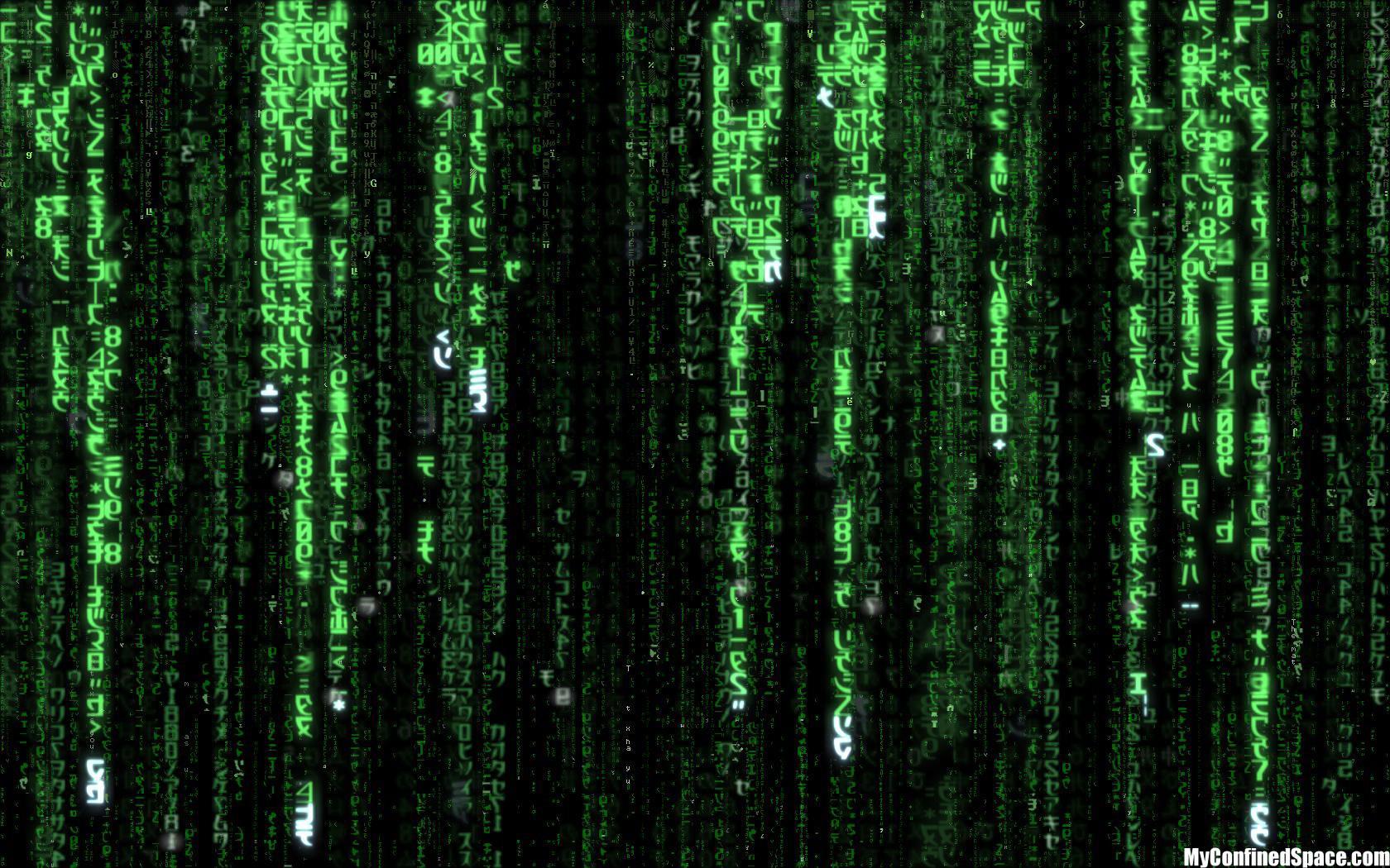 matrix code wallpaper IT AdviceX 1680x1050