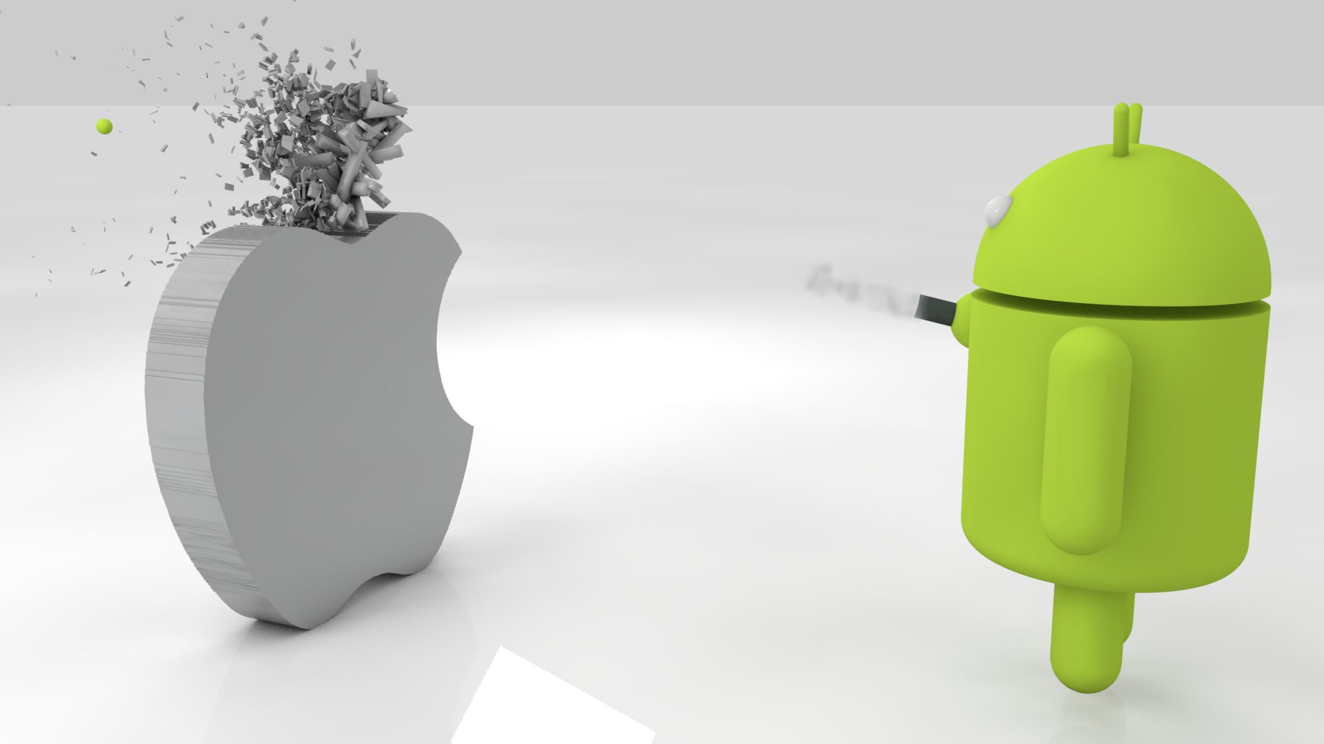 android vs apple funny wallpapers android vs apple funny wallpapers 1920x1080