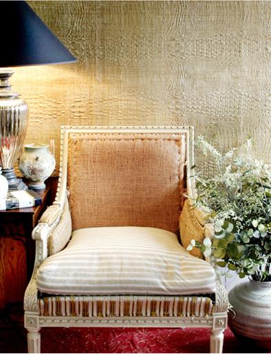 Modern Grasscloth Wallpaper 394x515