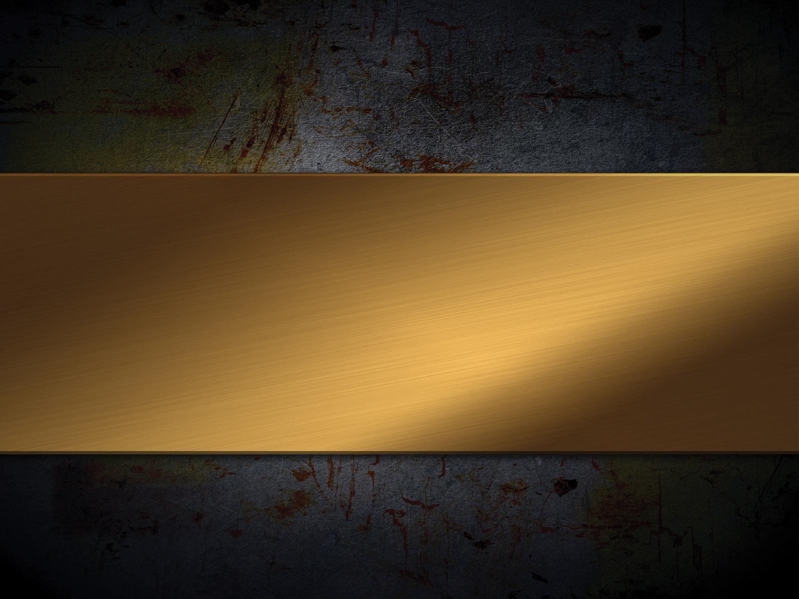 Black and Gold Wood PPT Backgrounds   Black Border Frames 1600x1200