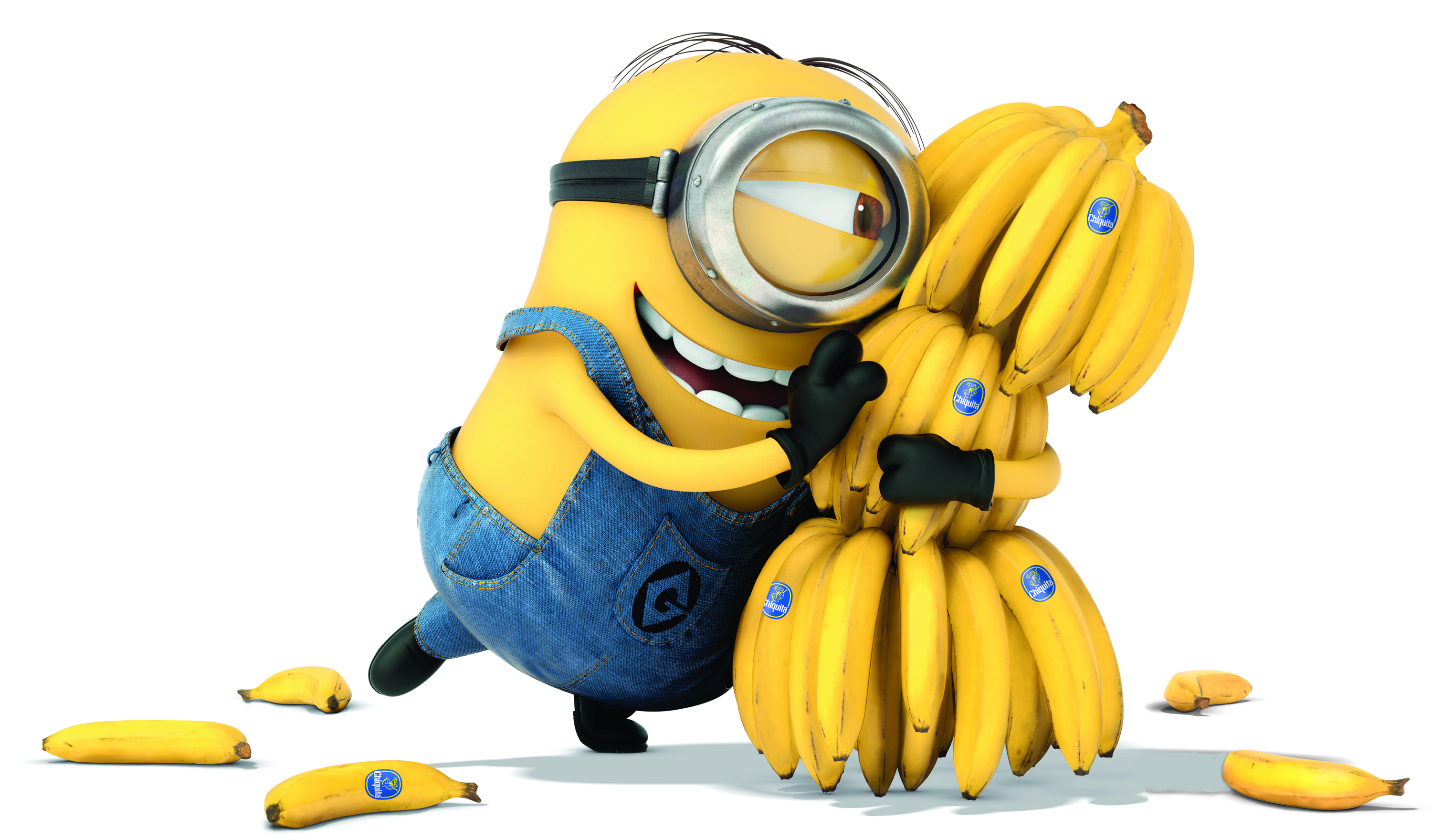 Minions Yellow Funny Wallpapers 3000x1760