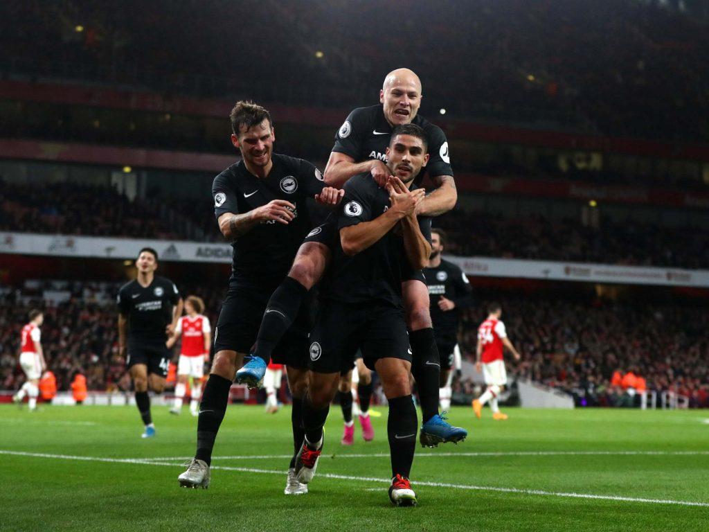 Arsenal vs Brighton result Neal Maupay condemns Freddie 1024x768