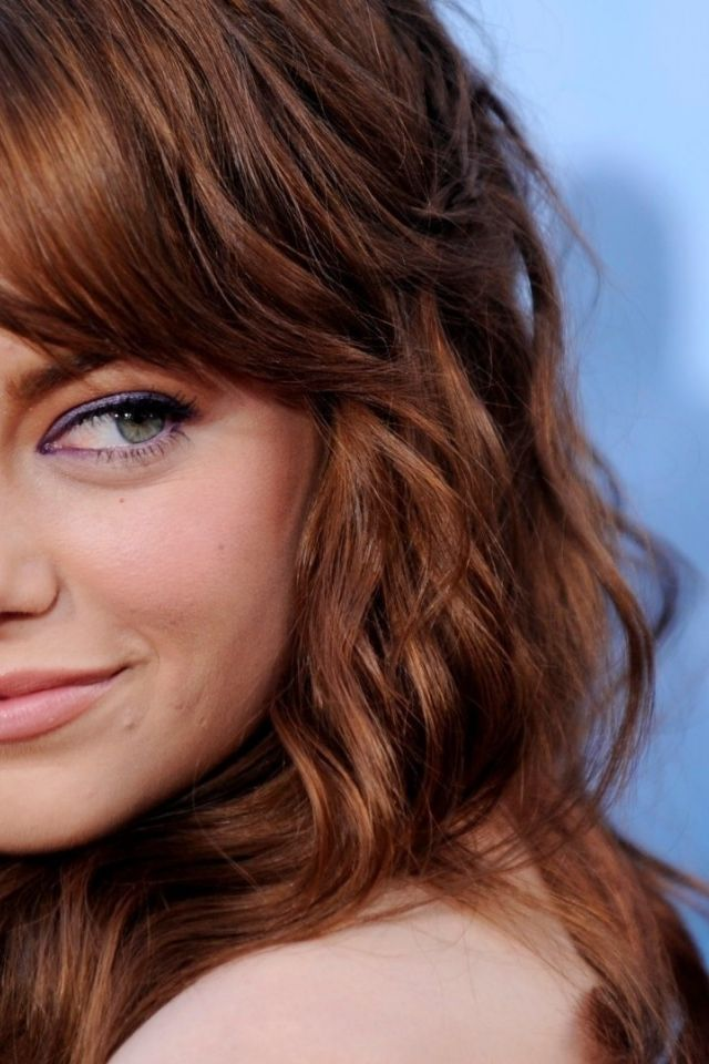 Sexy Emma Stone Iphone Wallpapers Pictures 640x960