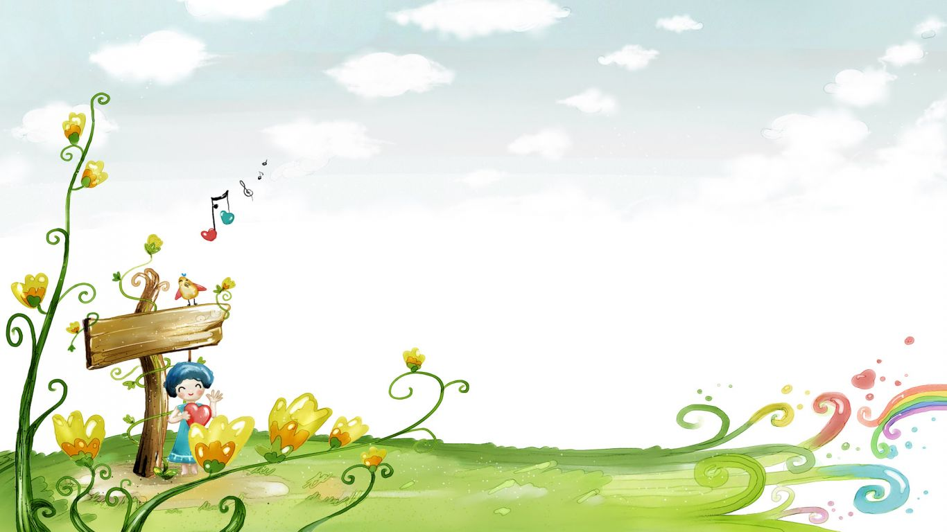 cartoon wallpapers category of hd wallpapers cartoon screensaver 1366x768
