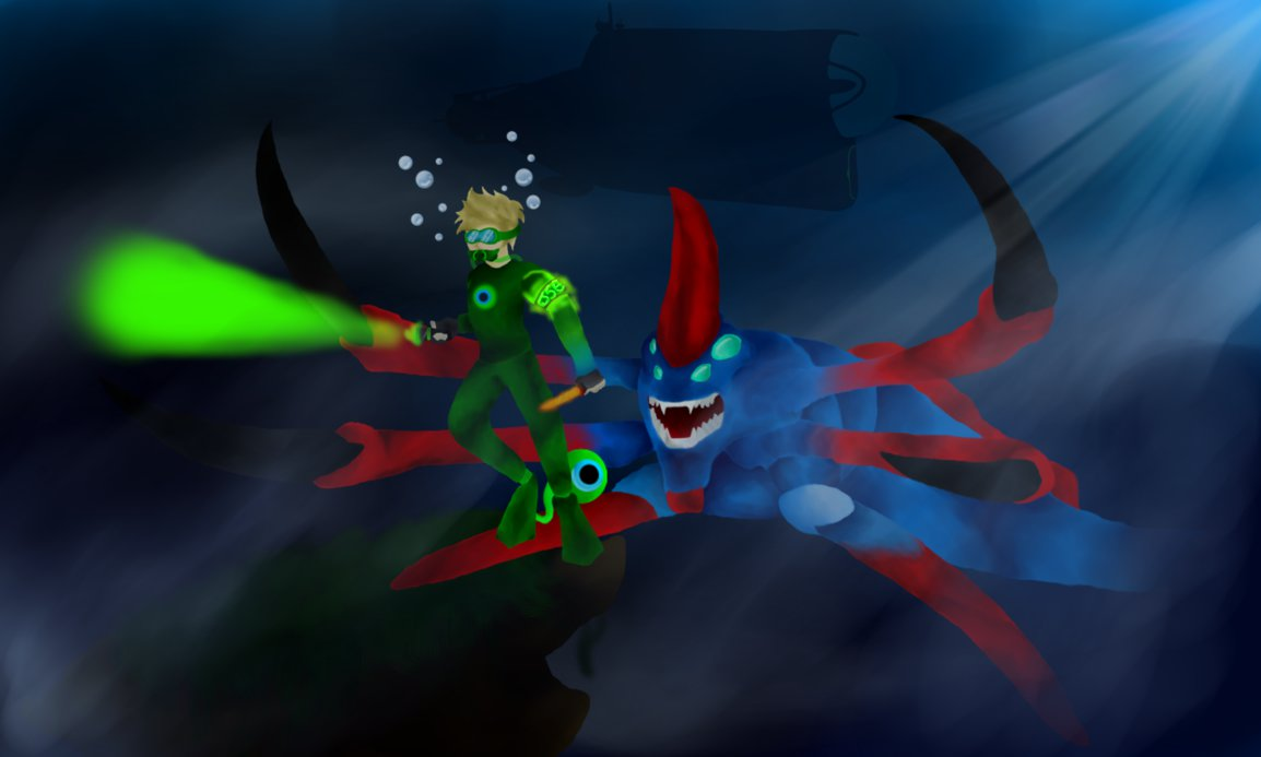 JackSepticEye Subnautica Series Wallpaper by Cypher Boss on 1154x693