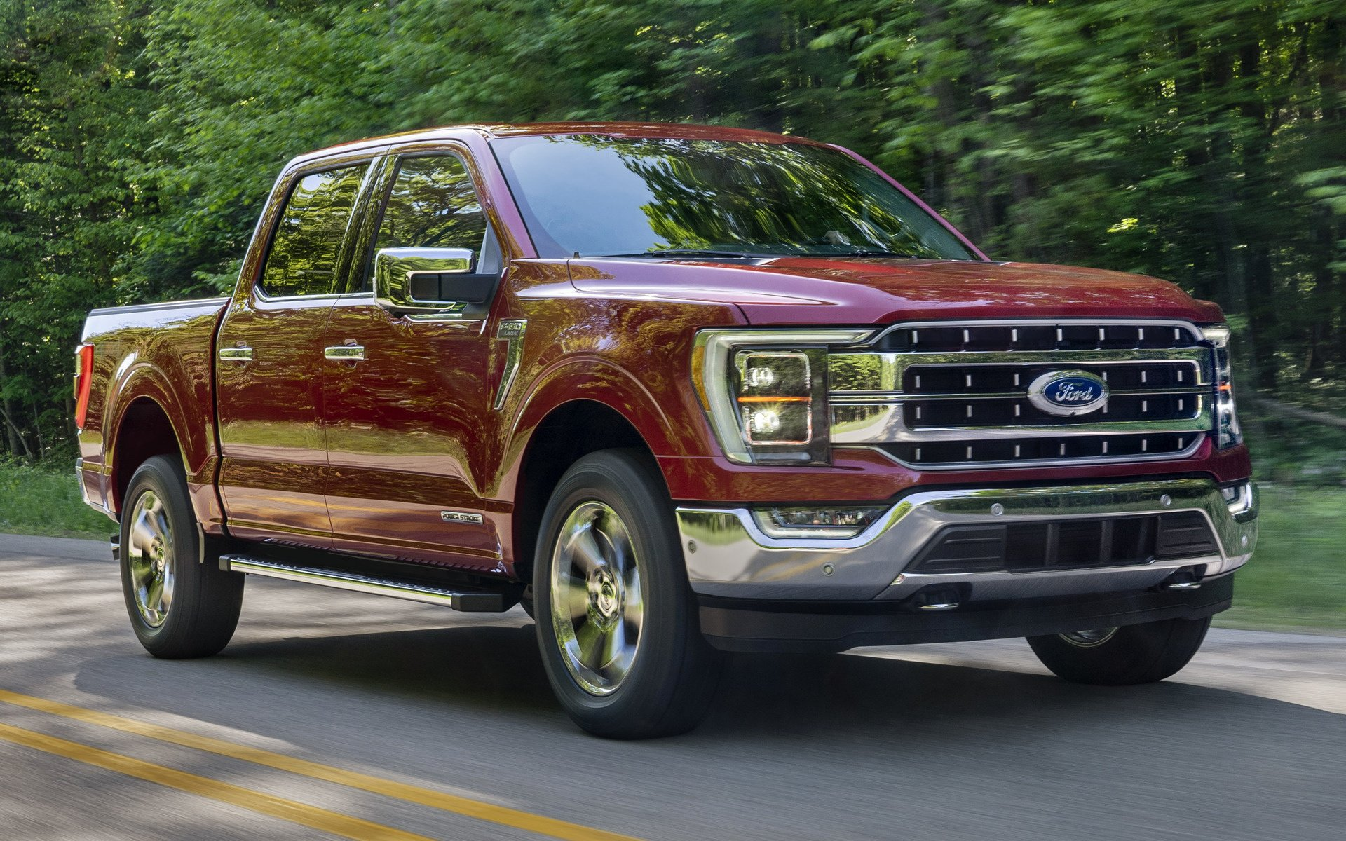2021 Ford F 150 Lariat SuperCrew   Wallpapers and HD Images Car 1920x1200