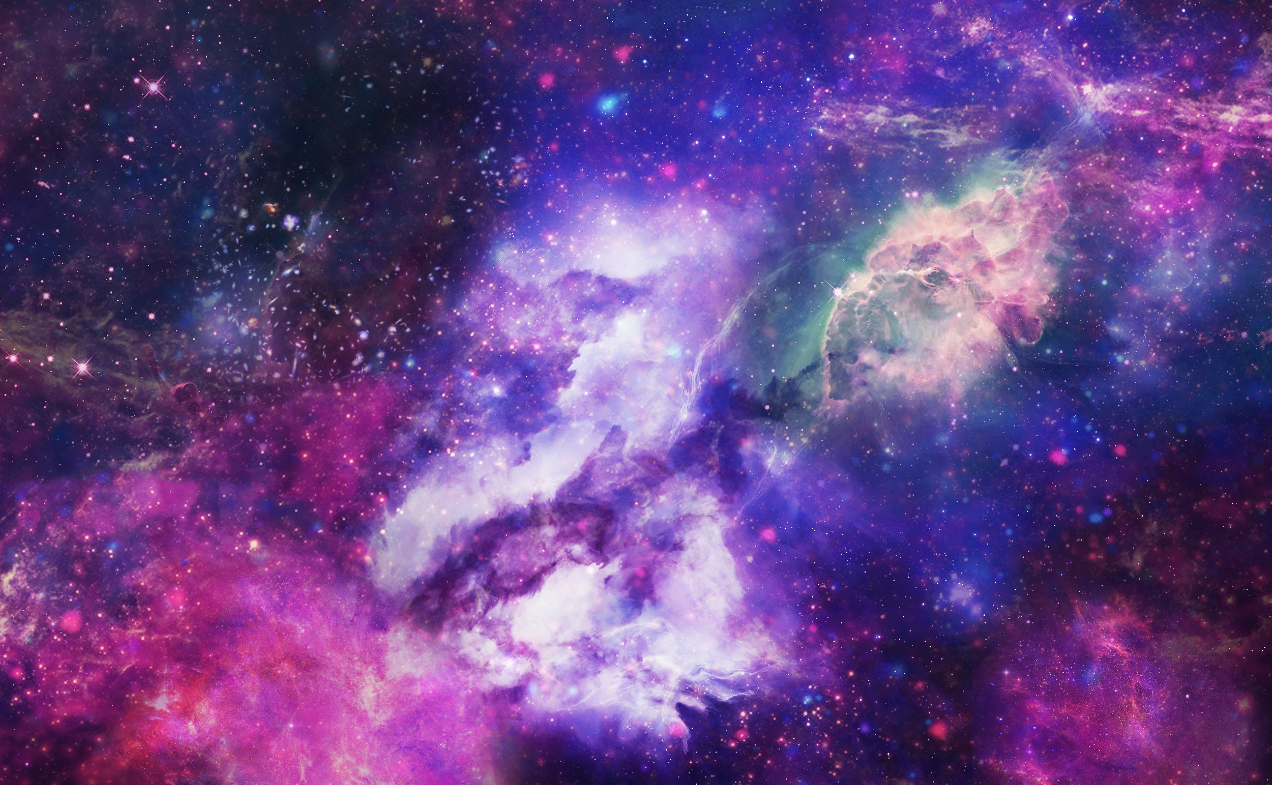 SpaceGalaxy Texture by Lyshastra 2560x1580