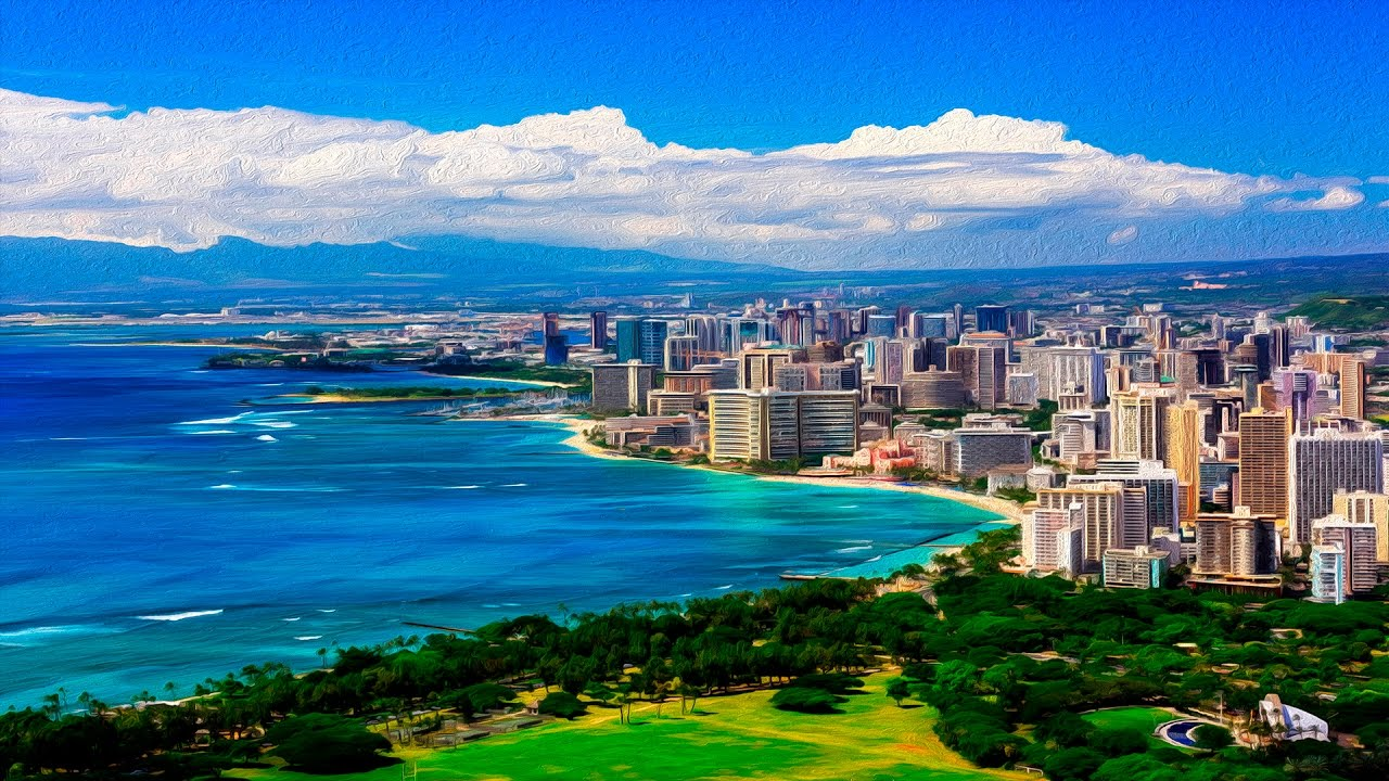 Free Download Waikiki Honolulu Oahu Hawaii United States A