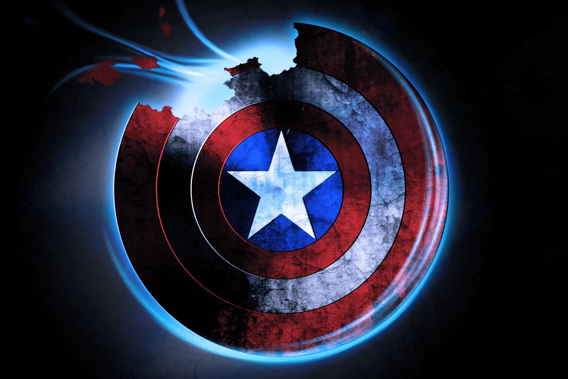 47 Captain America Shield Wallpaper Hd On Wallpapersafari