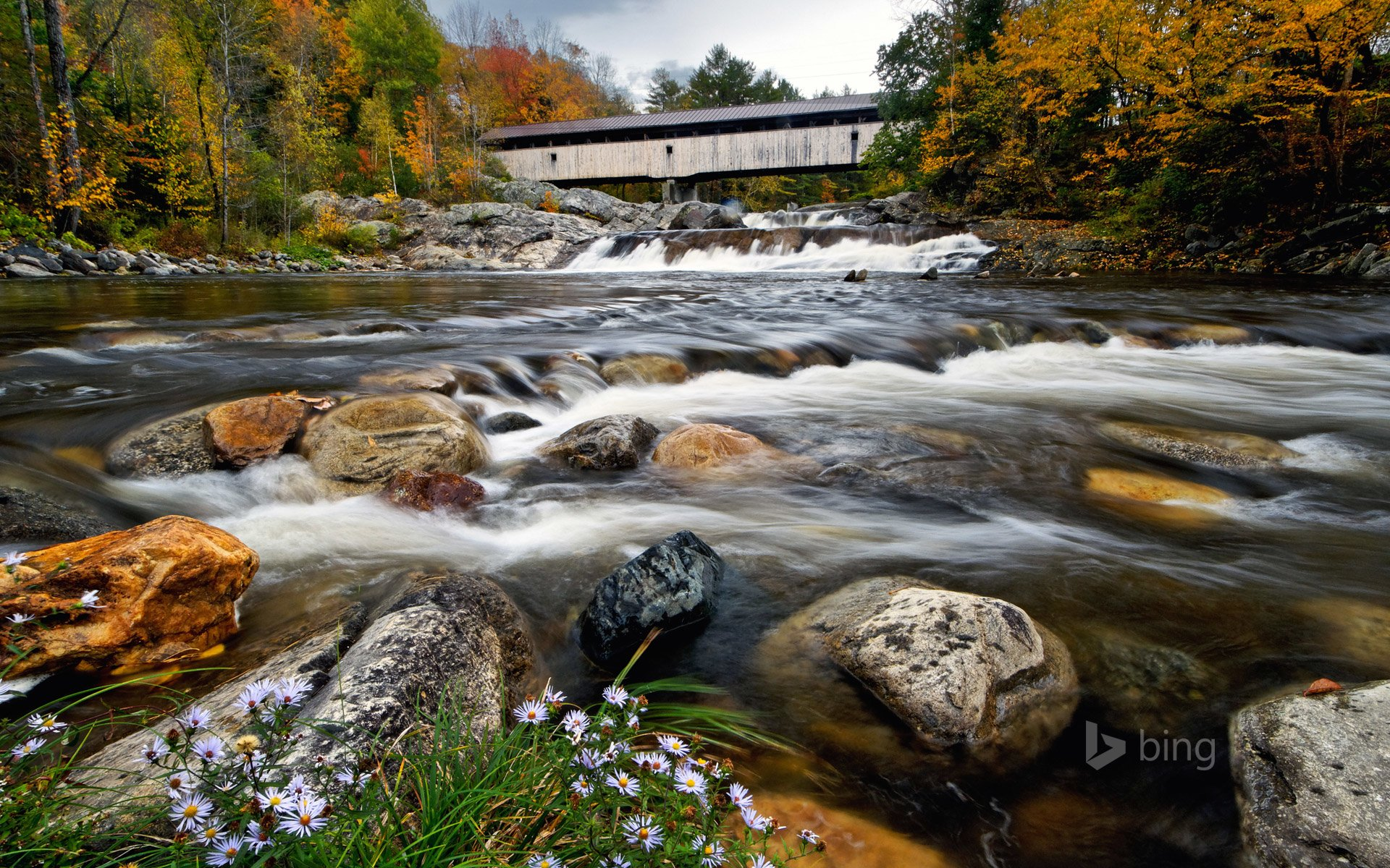 Ammonoosuc River In New Hampshire HD Wallpaper Background Image 1920x1200