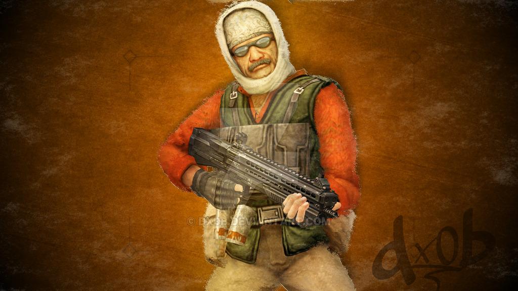 CSGO Terrorist Wallpaper by dx0b 1024x576