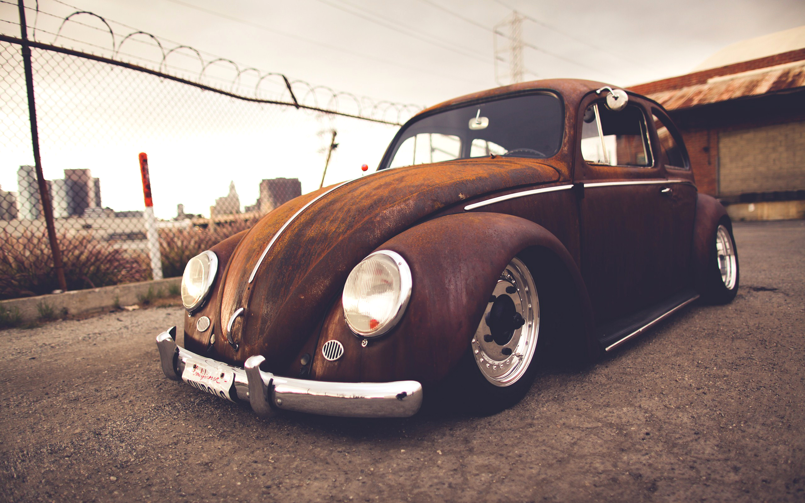 volkswagen bug classic car wallpaper 2560x1600