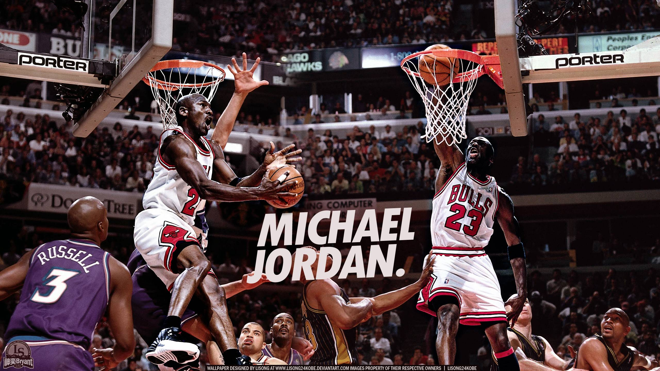 Pics Photos   Michael Jordan 2013 Dunk Hd Wallpaper 2560x1440