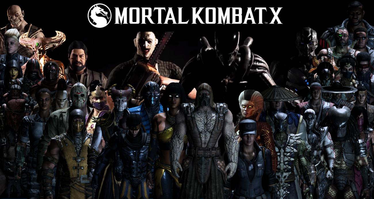 Mortal Kombat XL Komplete Roster Wallpaper by yoink13 1300x691