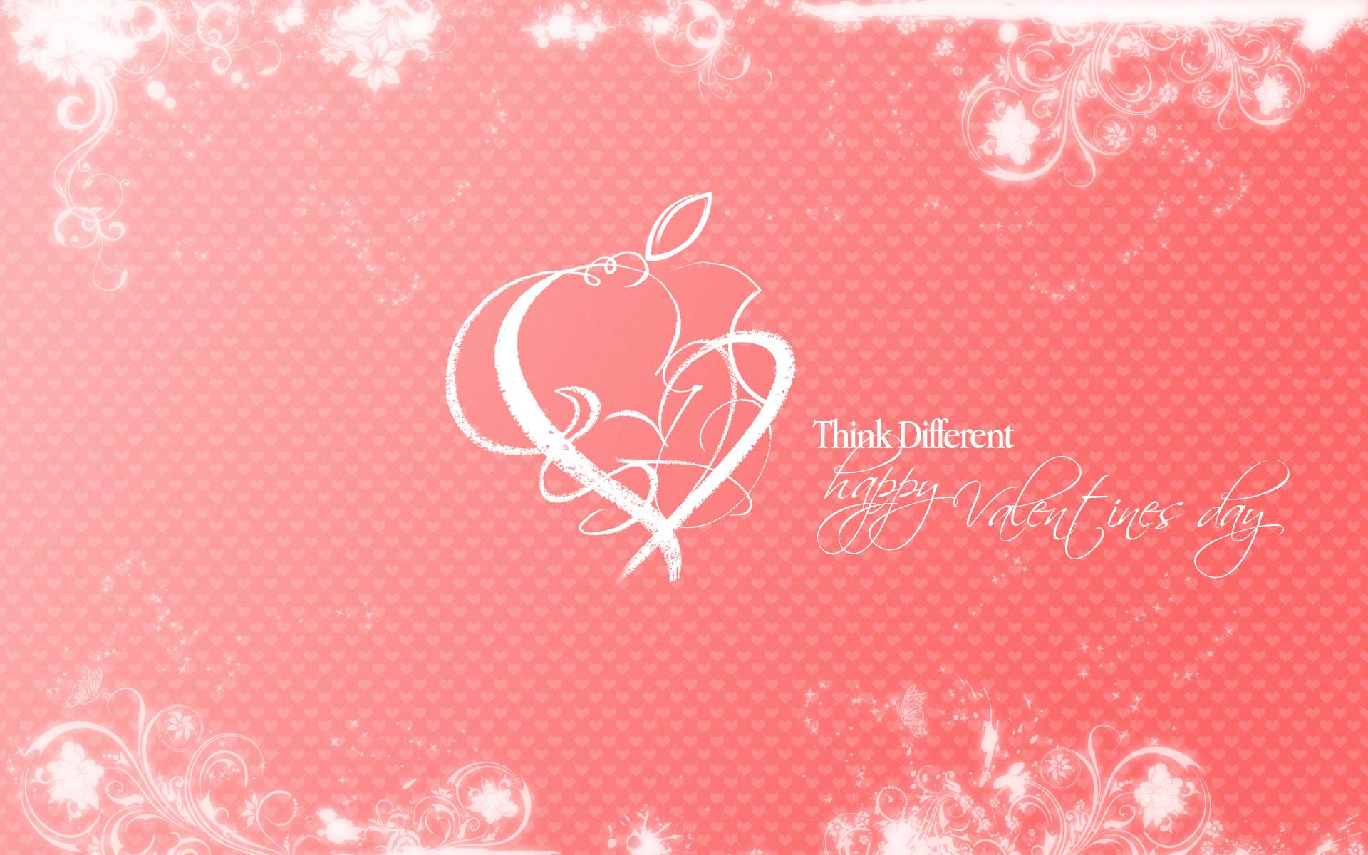 Apple February   Valentines Day HD Wallpaper Theme Bin 1920x1200
