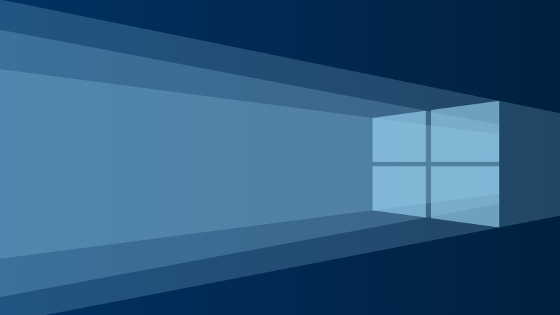 Name Windows 10 Minimalism Blue Background Ultra HD Wallpapers 800x450