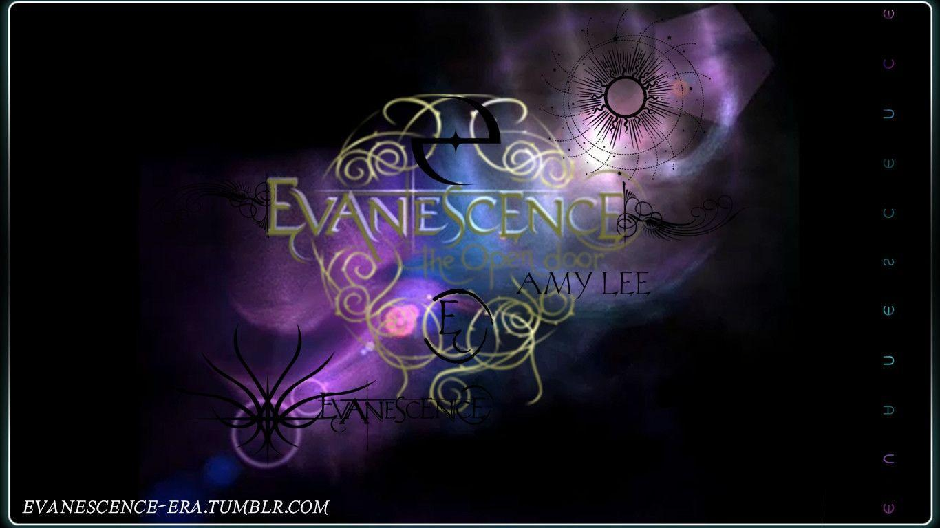 Evanescence Logo Wallpapers 1366x768