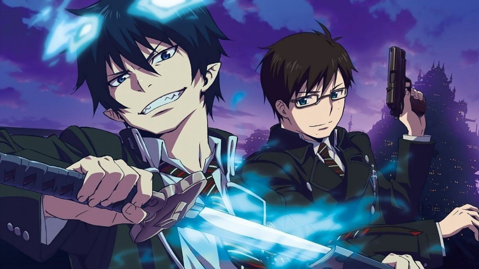 38 Blue Exorcist Wallpaper Hd On Wallpapersafari