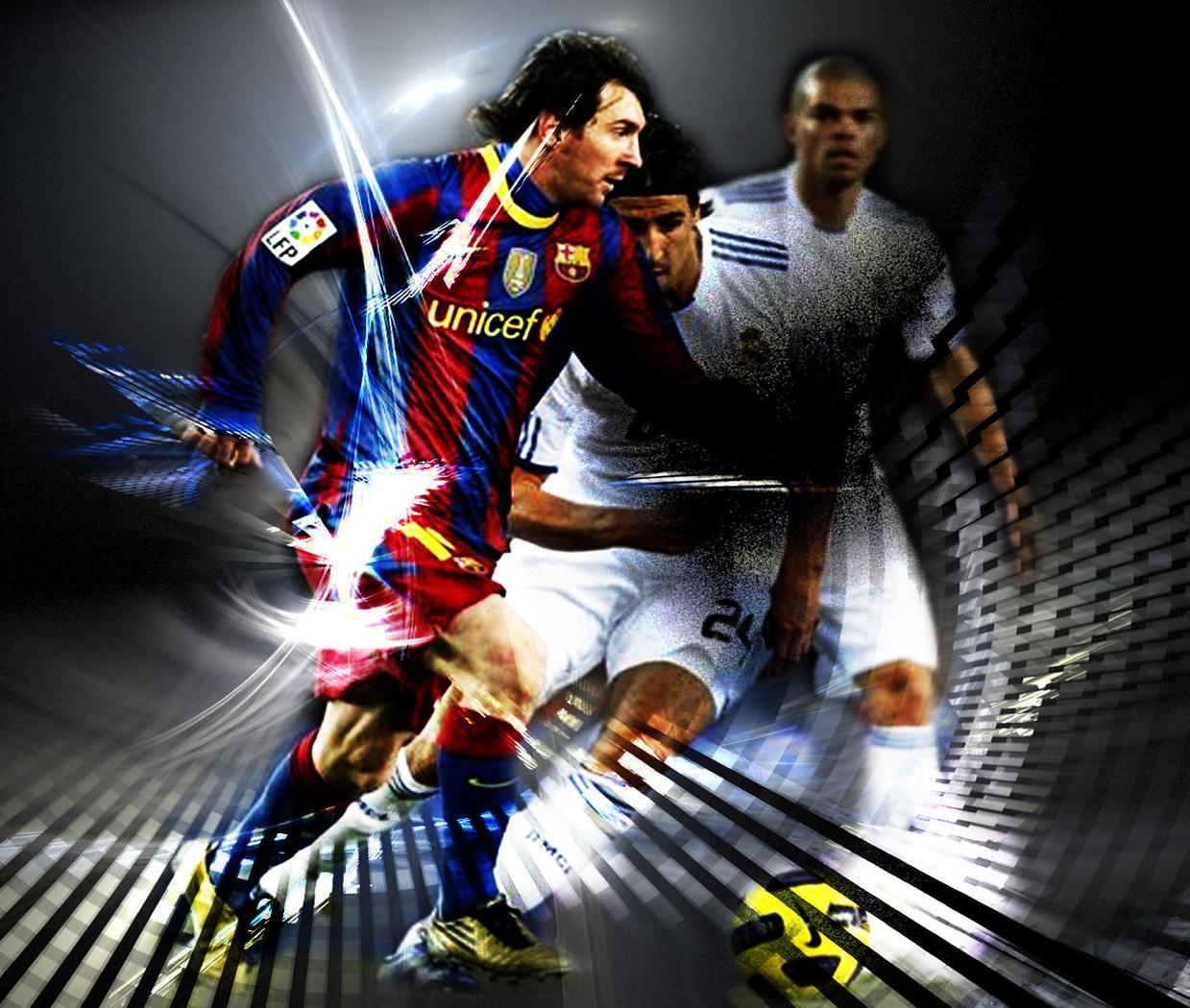Lionel Messi FC Barcelona Wallpaper   Lionel Andres Messi Fan Art 1239x1050