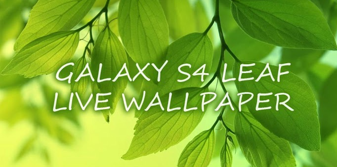 Leaf Live Wallpaper Android Apps   Download Android Applications 682x338