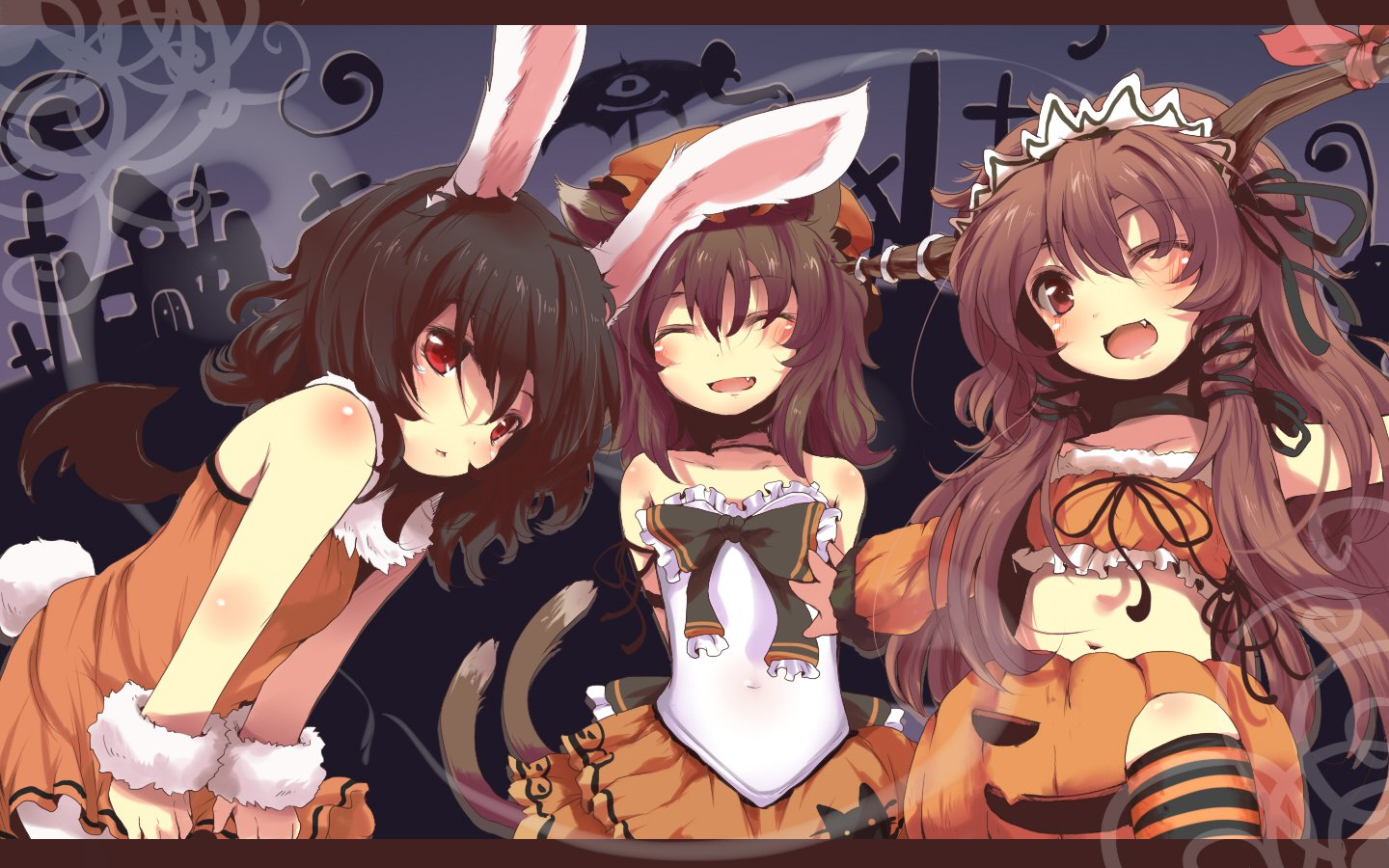 73 Halloween Anime Wallpaper On Wallpapersafari