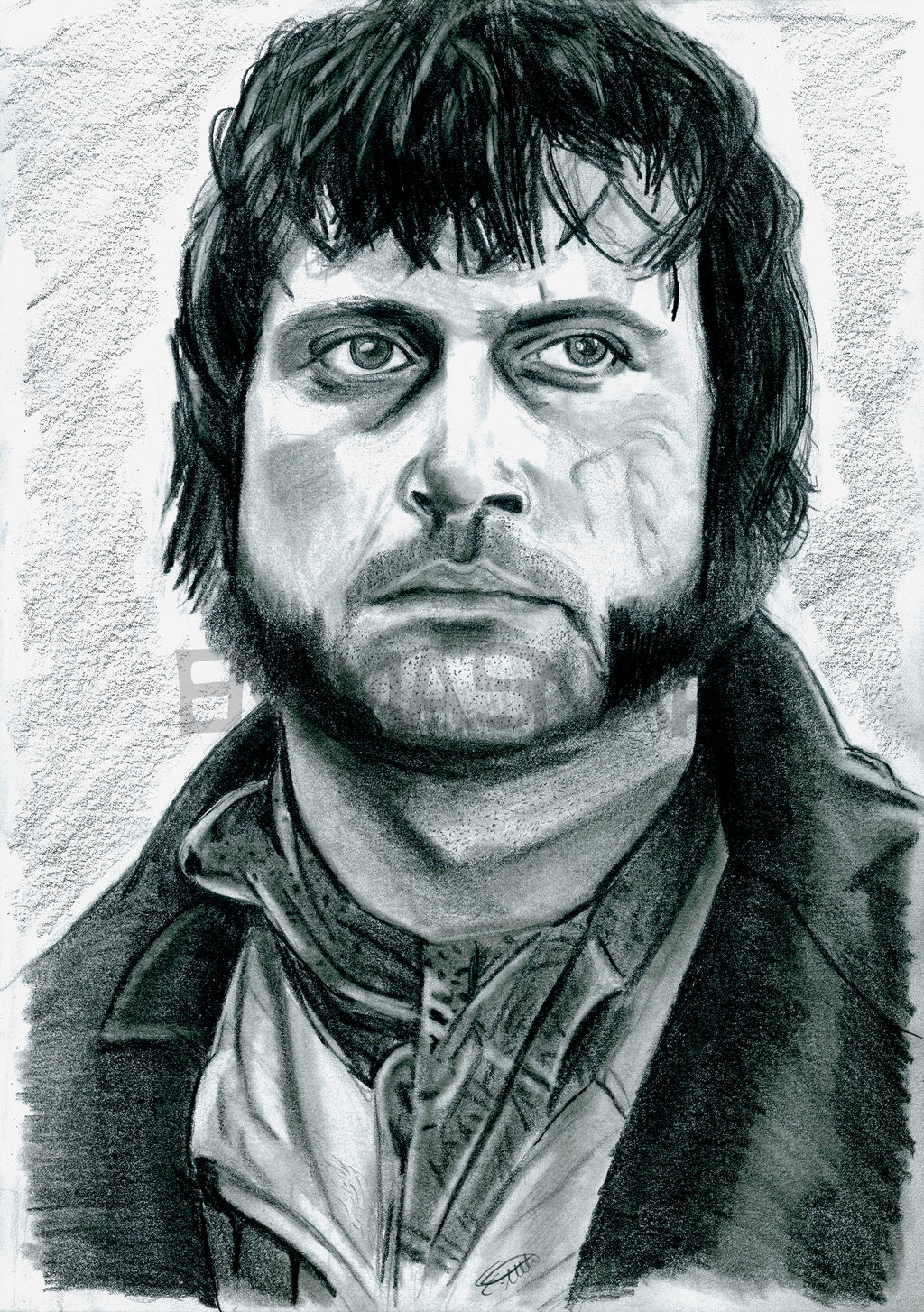 Oliver Reed as Bill Sikes by emmasnap 1024x1454