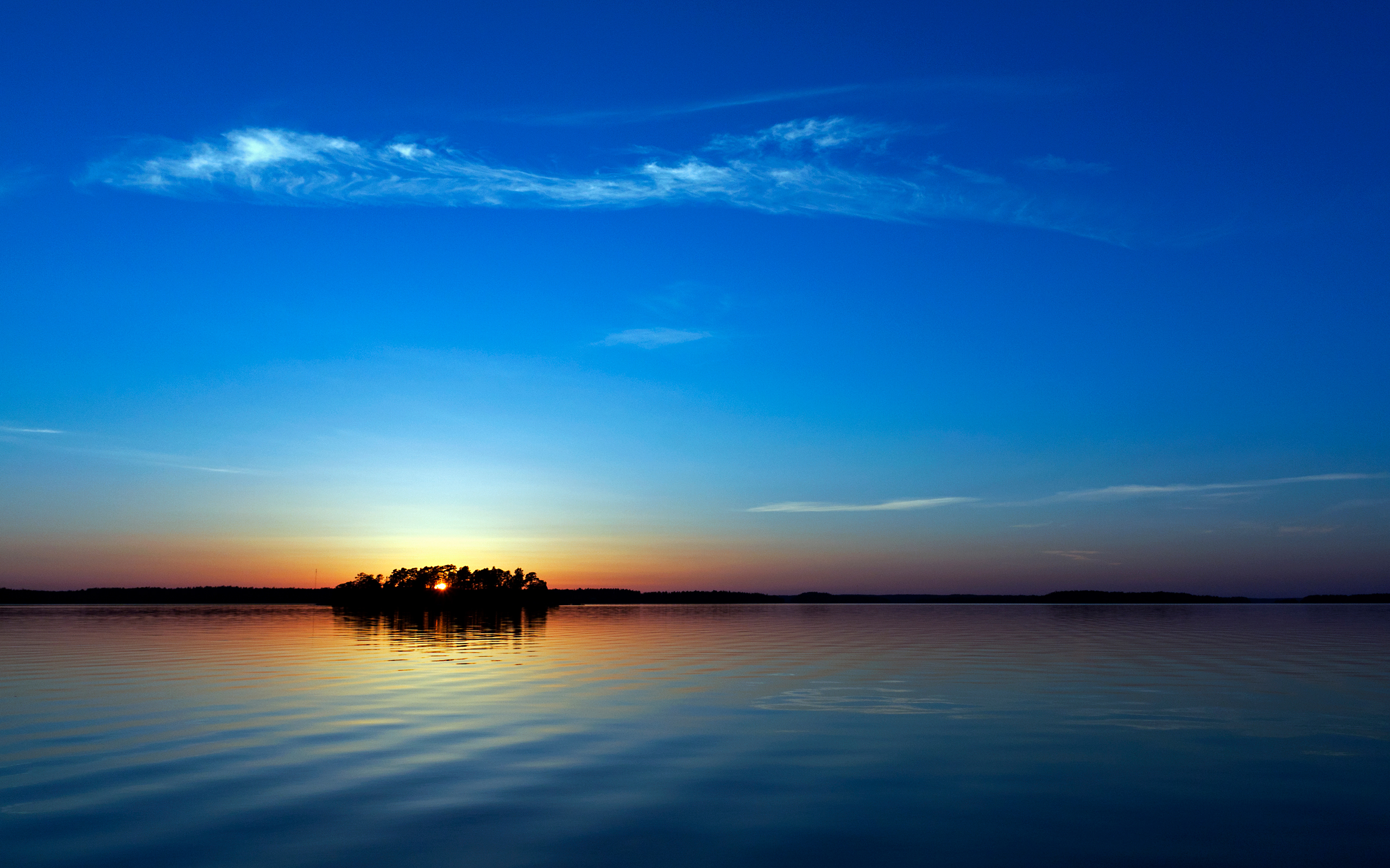 Blue Sunset Wallpapers HD Wallpapers 2560x1600
