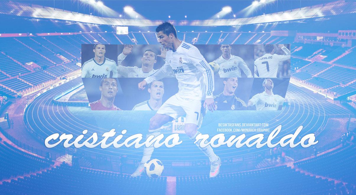 Ronaldo Wallpaper by besiktasfans on DeviantArt