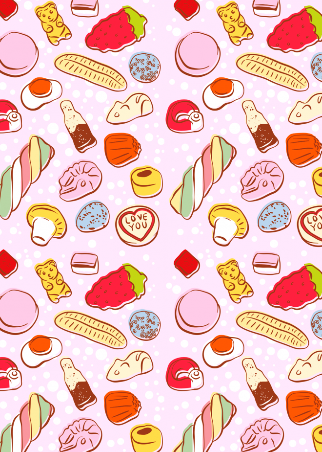 660x924px Candy Shop Wallpaper Wallpapersafari