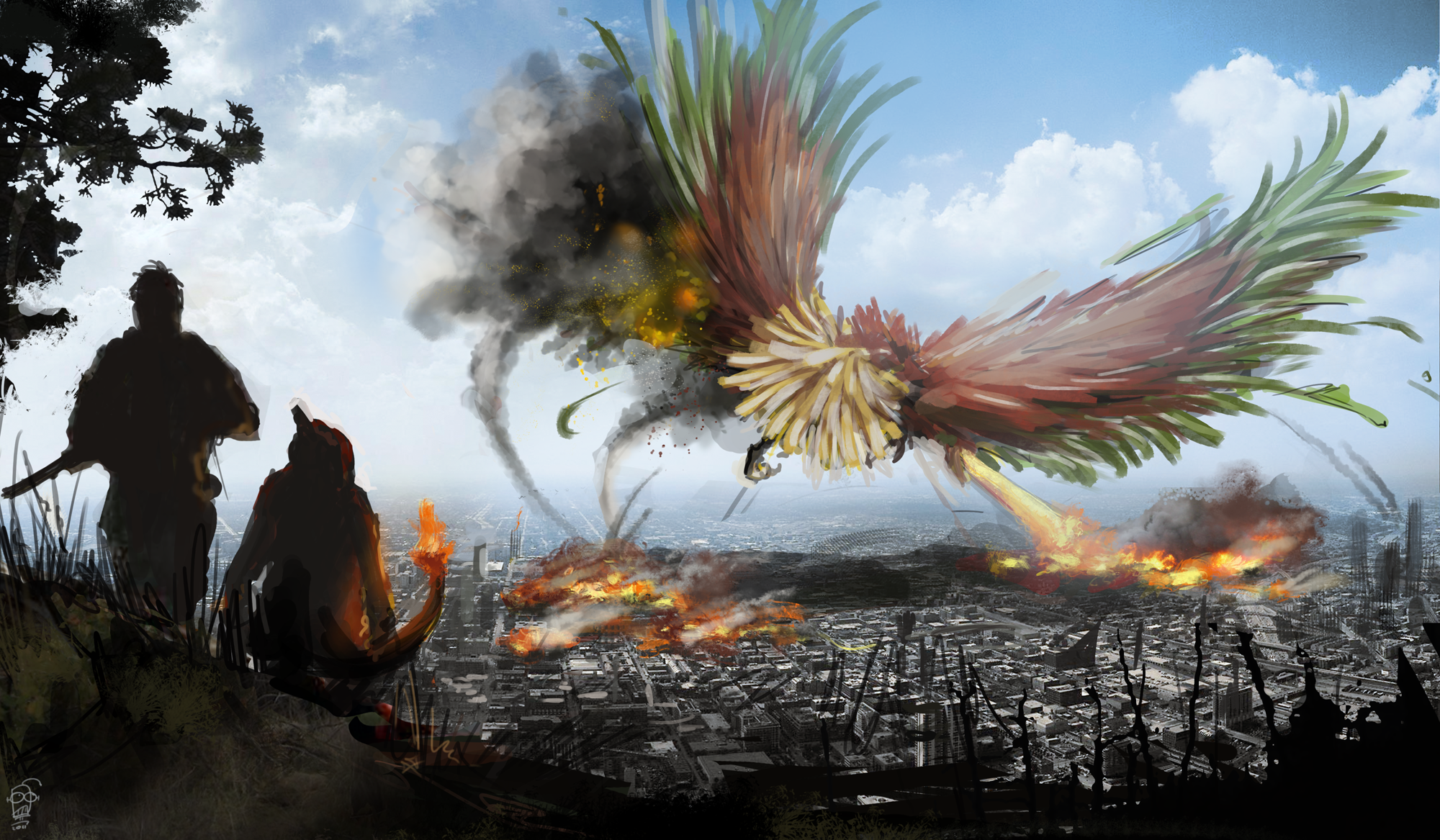 33 Ho oh Pokmon HD Wallpapers Background Images 2000x1167
