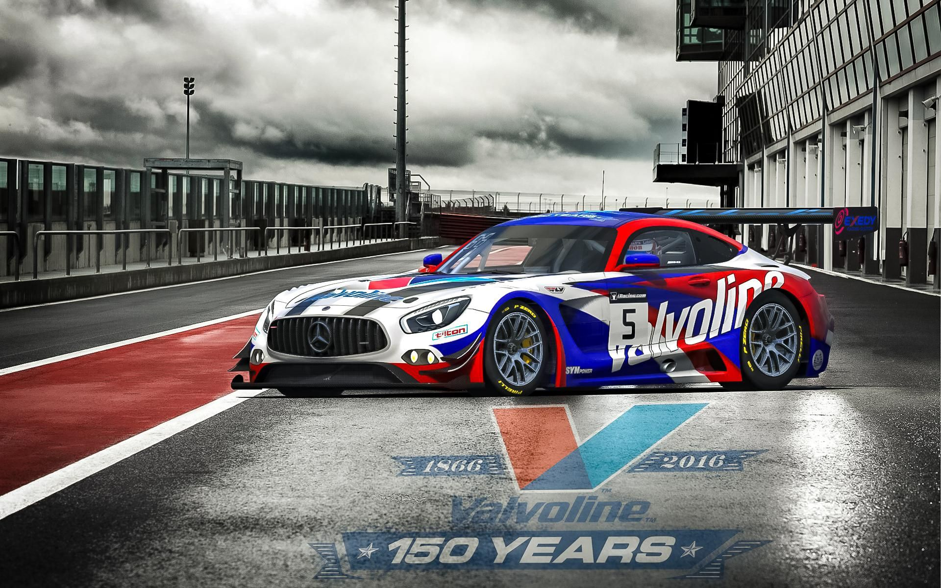 Valvoline 2016 by Paul M   Trading Paints Sportcars Madness 1920x1200