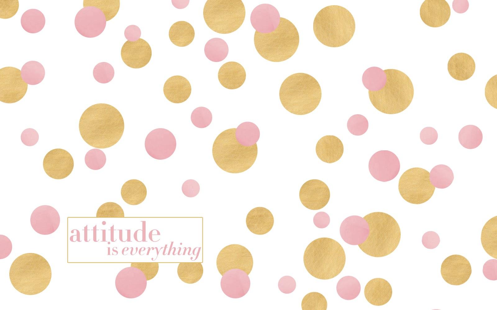 Gold Polka Dot Background Desktop wallpaper 1600x1000