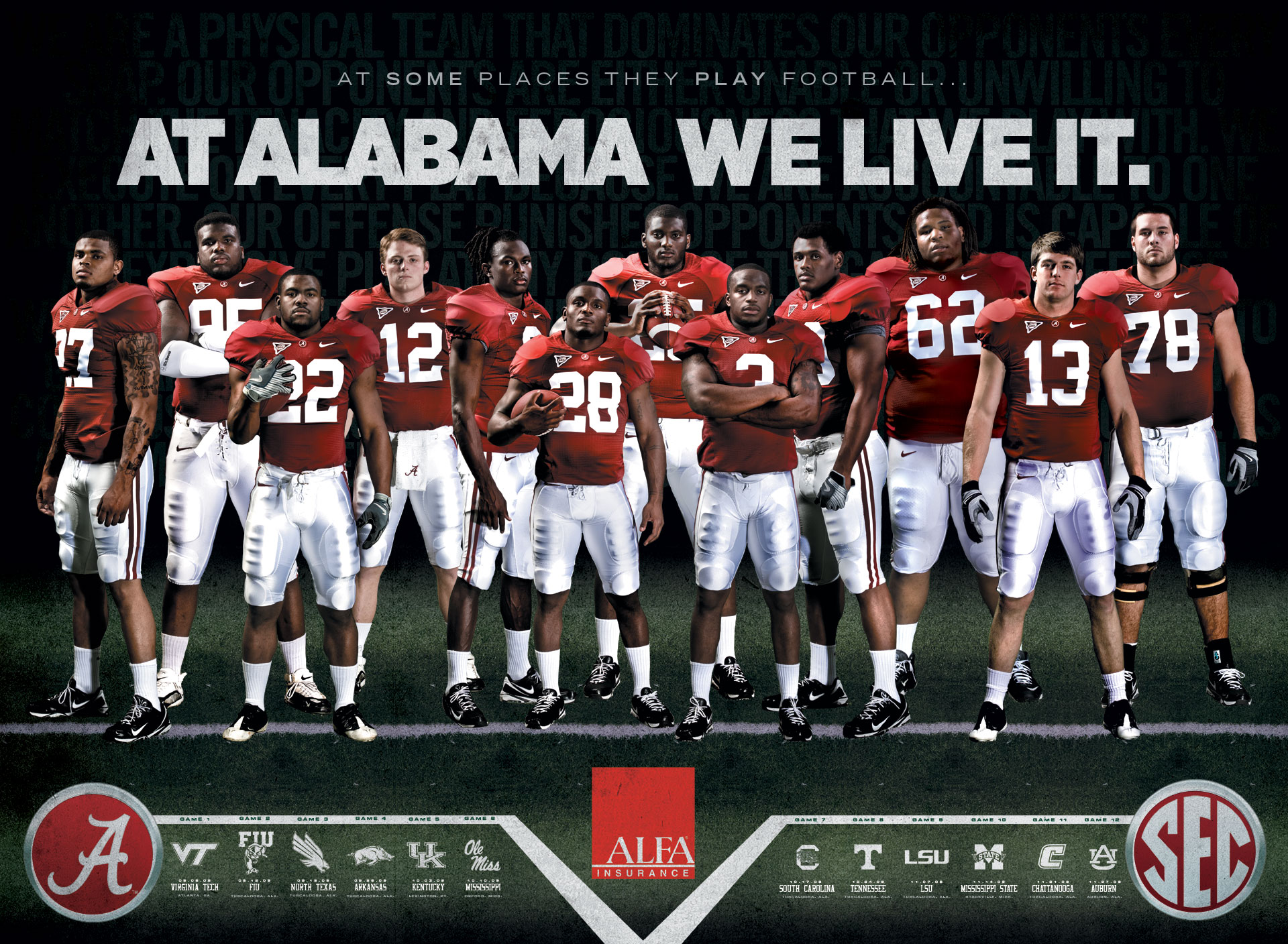 Alabama Football HD Wallpapers 1920x1408