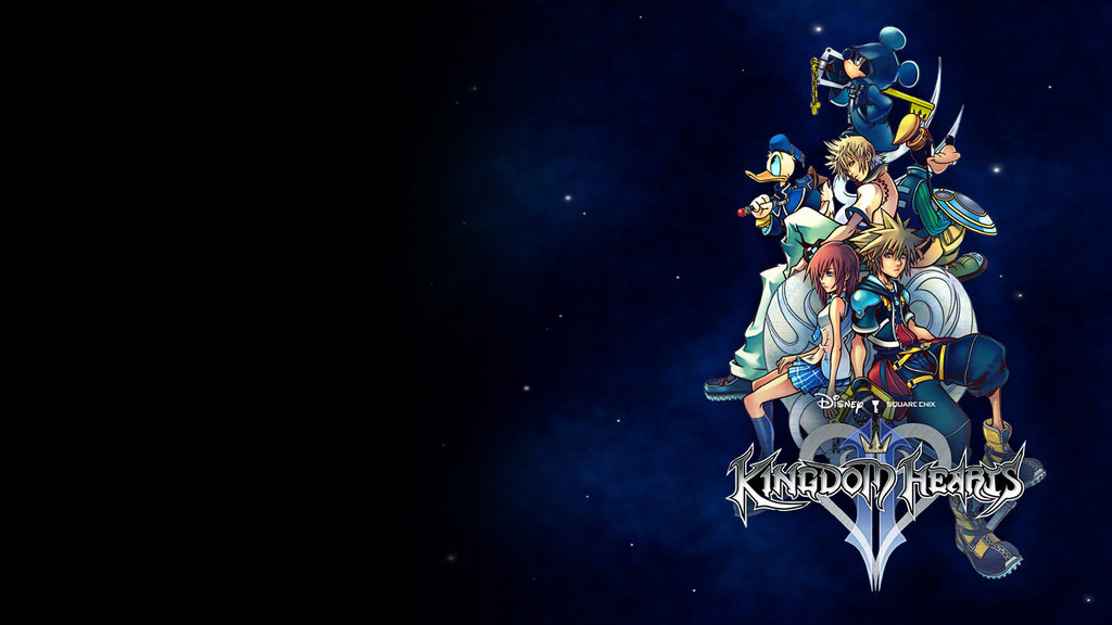 Kingdom Hearts wallpaper 3 by greenlamia 1024x576
