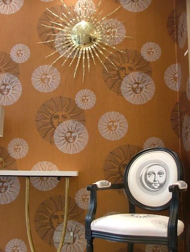 Fornasetti clouds wallpaper wallpapersafari - Fornasetti faces wallpaper ...
