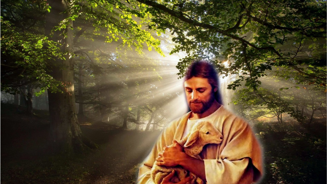 jesus christ wallpaper sized images pic set 13 - HD 1366×768